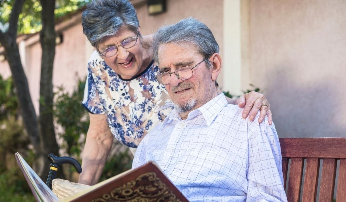 old couple with good memory